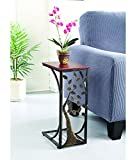 Indoor Multi-Function Accent Table Study Computer Home Office Desk Bedroom Living Room Modern Style End Table Sofa Side Table Coffee Table Side snack table