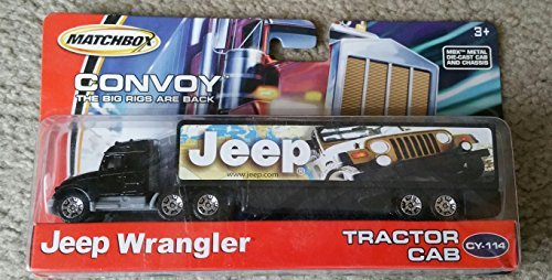 2005 Matchbox Convoy CY-115 Michelin Tires Tractor Trailer Truck Mint In -