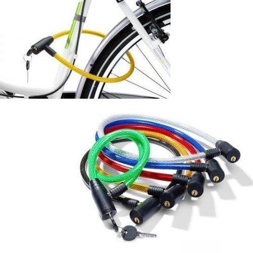 Câble acier cadenas pour vélo chaîne avec clé aNTIVOL vélo FAST WORLD SHOPPING