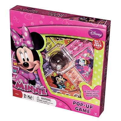 - Cardinal Games Pop Up Board Game (Minnie Mouse)