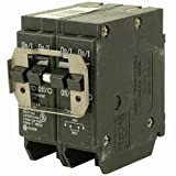 Eaton BR420 Plug-On Mount Type BR Circuit Breaker 4-Pole 20 Amp 120/240 Volt AC