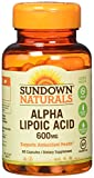 Sundown Naturals Super Alpha Lipoic Acid, 600mg, Capsules 60 ea