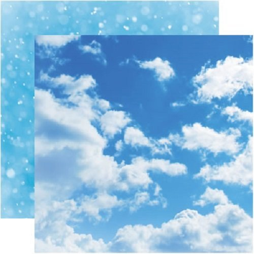Elements Collection, Aware, Double-sided, Sky & Clouds Scrapbook Paper, Reminisce, 25 (Clouds Collection)