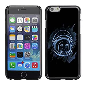 Design for Girls Plastic Cover Case FOR iPhone 6 Space Astronaut OBBA