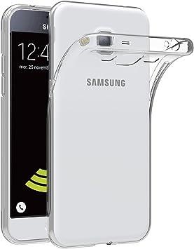 AICEK Coque Samsung Galaxy J3 2016, Etui Silicone Gel Samsung Galaxy J3 2016 (J320F) Housse Antichoc Samsung J3 Transparente Souple Coque de ...