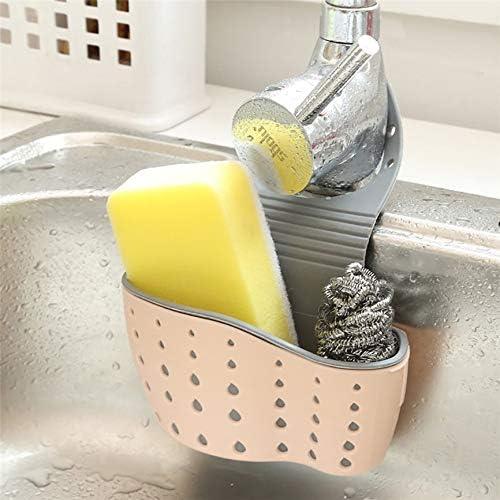 Hunpta Sink Shelf Soap Sponge Drain Rack Bathroom Holder Kitchen Storage Suction Cup A A