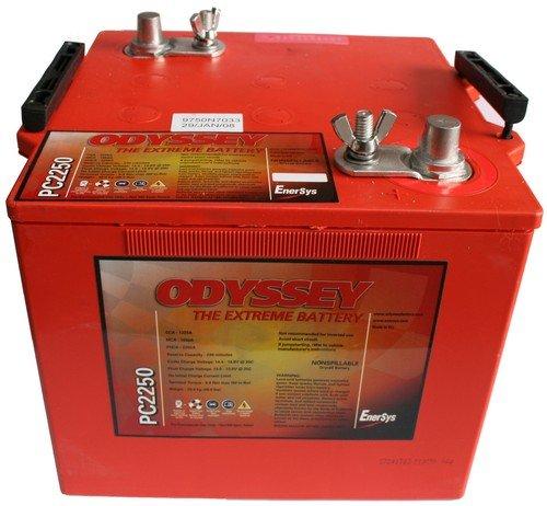 ODYSSEY Batteries PC2250 Lead_Acid_Battery