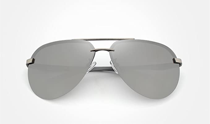 9364bcb024 Gafas De Sol Hombre Espejo Polarizadas Cristal Gris - Gafas De Sol Baratas  Gafas De Sol Espejo Aviador Hombre Polarizadas - Gafas Aviad Buena Calidad  ...