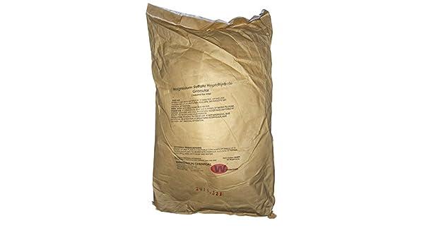 Sulfato de magnesio heptahydrate [mgso4.7h2o] [CAS _ 10034 - 99 - 8] técnica Grado + 99,5%, color blanco cristalino para usos industriales Granular ...