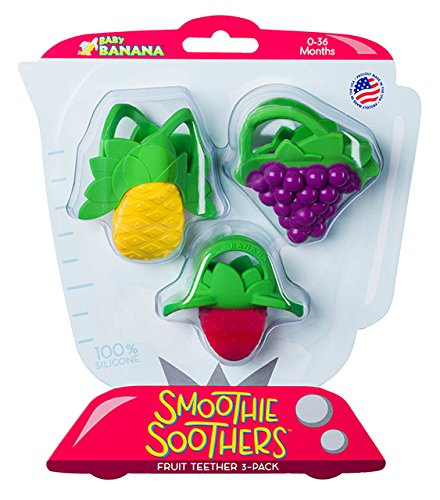 Baby Banana Smoothie Soothers Live-Right TE01