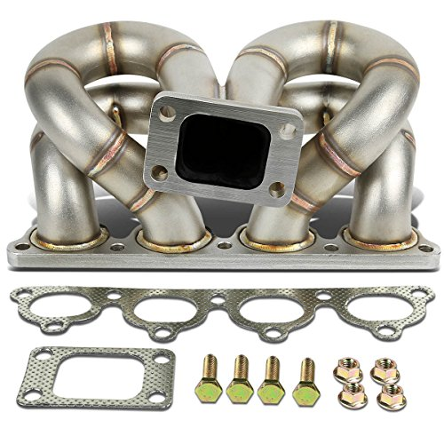 DNA Motoring TM-D-S-RH-NWG Stainless Steel Turbo Manifold
