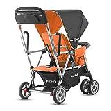 Joovy Caboose Ultralight Stroller, Orangie