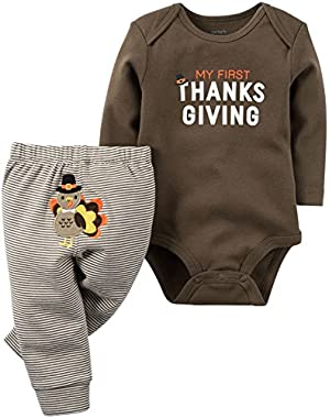 My First Thanksgiving Pant Set (Baby)