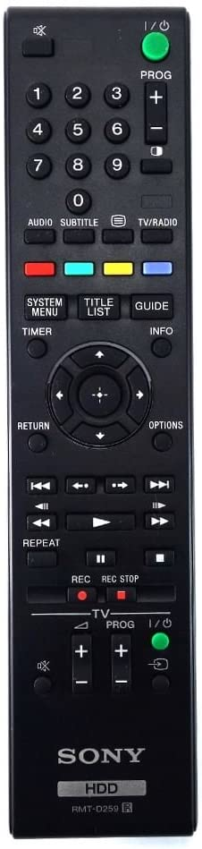 Replacement Remote Control for Sony SVR-HDT500