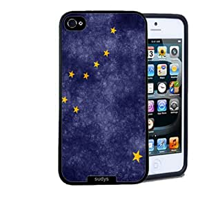 Iphone 5 5S Case Thinshell Case Protective Iphone 5 5S Case Shawnex Alaska State Flag Grunge Distressed