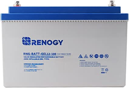Renogy Deep Cycle Rechargeable Battery