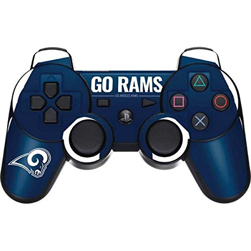 Los Angeles Rams PS3 Dual Shock wireless controller Skin - Los Angeles Rams Team Motto | NFL X Skinit Skin