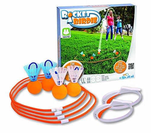 Djubi Rocket Birdie - Lawn Darts Outdoor Games
