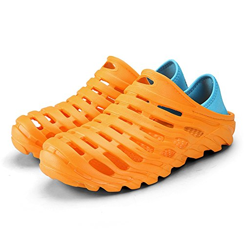 zoccoli Orange EU uomo shoes Jiuyue da scivoli Orange a sono casual sandali 42 resistenti uomo Dimensione I e Scarpe da degli traspiranti Color xUxIa