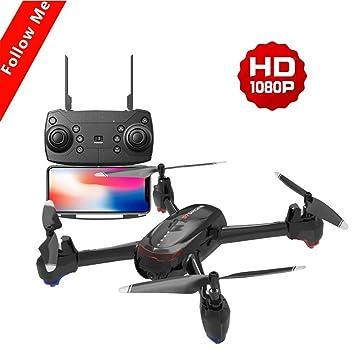 Rclhh Vuelo De Trayectoria,Cámara Drone 4K HD S7 WiFi FPV, El ...