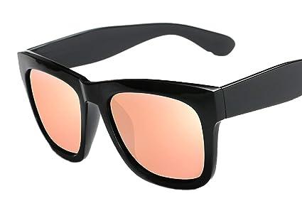 Skudy Gafas de sol ligeras de fibra de carbono, redondas ...