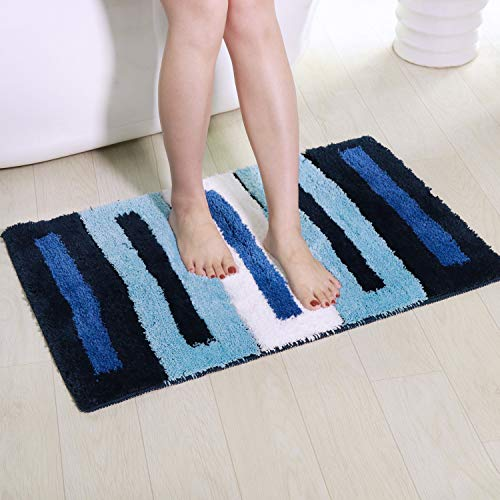 Shaggy Bathroom Rugs, Artiron Luxurious Bathroom Floor Rug Mats Plush Non Slip Machine Washable Soft...