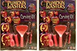 Pumpkin Masters America's Favorite Pumpkin Carving Kit (Pack of 2)