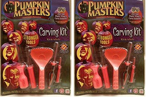 Pumpkin Masters America's Favorite Pumpkin Carving Kit (Pack of 2)