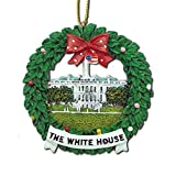 Washington DC Ceramic Christmas Ornament