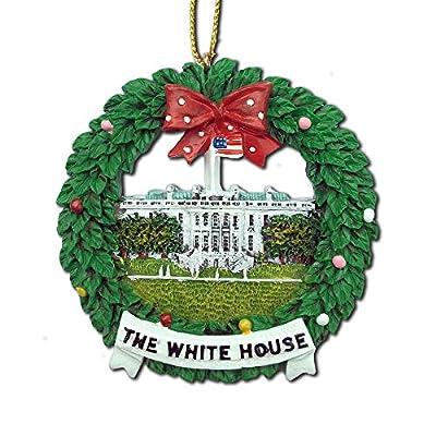 Washington DC Ceramic Christmas Ornament