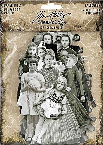Tim Holtz 2019 Halloween Idea-Ology, Paper Dolls