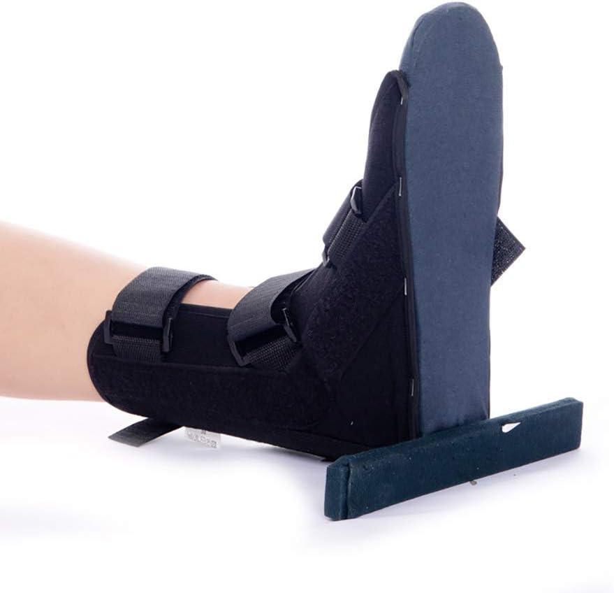 GUOOK Tobillera, Soporte para piernas, Caminante de fracturas en niños Adultos, fijación de Tobillo, estabilizador de Fascitis Plantar, Alivia la inflamación