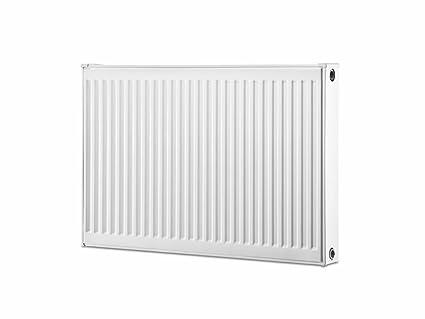 Buderus perfil compacto radiador radiadores planos con soporte de pared (400 mm, 400 mm