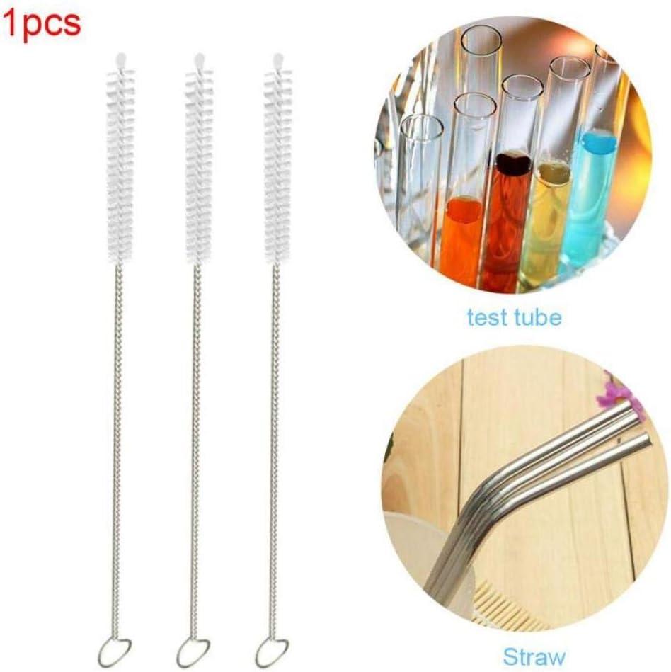 Zonster 1pcs en Acier Inoxydable Potable Straws Potable Tuyau Ecouvillon Brosse Biberon avec Les Outils de Nettoyage Brosse de Nettoyage