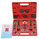 BETOOLL HW0037 21pcs Disc Brake Pad and Caliper Wind Back Kit