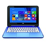 "HP Stream 11.6"" Touchscreen Convertible Laptop (Intel Celeron, 2 GB, 32 GB eMMC, Blue) with Windows 8 - Includes Office 365 Personal for One Year"
