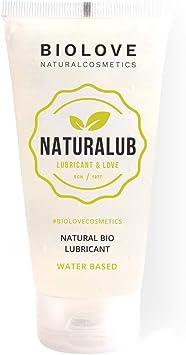 Biolove Naturalub Gel Lubricante sexual waterbased 100% natural sin parabenos, sulfatos ni siliconas