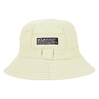 LDDENDP Use algodón Gorra de protección solar Protección UV ...
