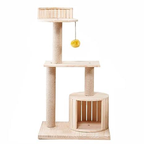 Árboles para gatos Poste de rasguño del condominio de la Torre del árbol de Gato de