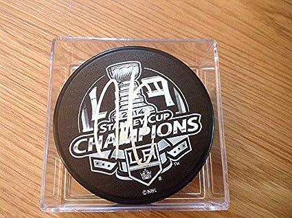 82c3ef82789 Jordan Nolan Signed 2014 Stanley Cup Puck LA Los Angeles Kings Signed -  Authentic Autograph