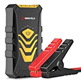 EMIGVELA Car Jump Starter Kit 14000mAh Dual USB Power Bank Emergency Battery Booster