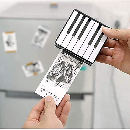 Pocket Printer Thermal Photo Printer Mini Bluetooth Portable Receipt Printer,for Journal, Travel, Daily Plan, Good Gift…