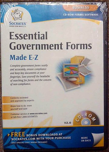 Essential Business Government Forms Made Easy CD-ROM by - Forms Government