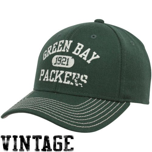 - Reebok Green Bay Packers Classics Structured Adjustable Hat Adjustable