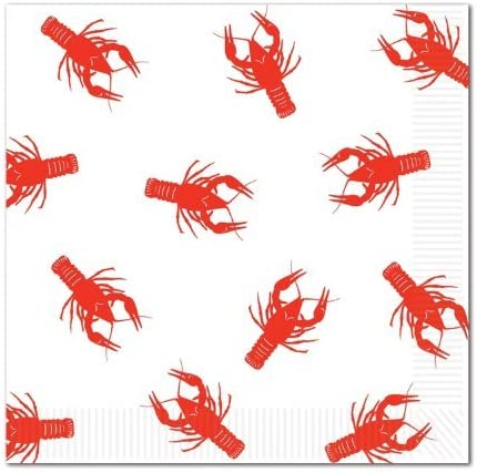 Crawfish Luncheon Napkins (2-Ply) (Value Pack: 48 Count)