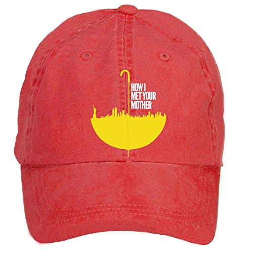 Kettyny Unisex How I Met Your Mother Design Baseball Cap Hats