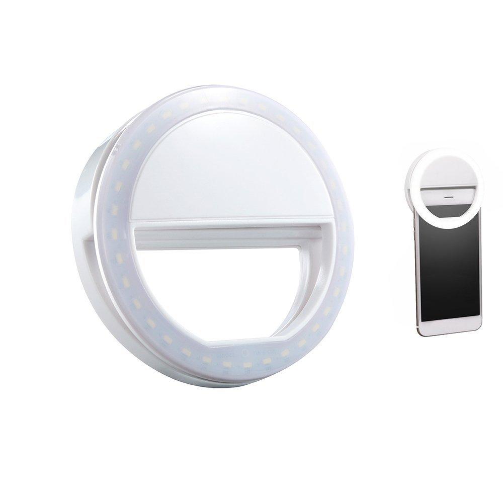 amazon com aipinvip selfie ring light 3 level brightness led clip