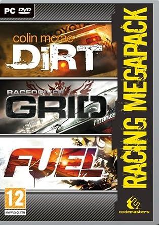 Codemasters Grid / Fuel / Dirt - Racing Mega Pack (PC) vídeo - Juego