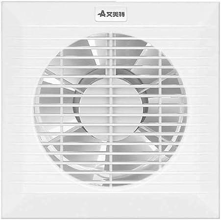 Ventilador Ventilador baño Cocina Pared Ventana Ventilador Potente silencioso Extractor de Aire (Size : 178mm): Amazon.es: Hogar
