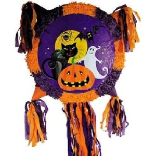 Gruesome Group Pull String Halloween Pinata]()